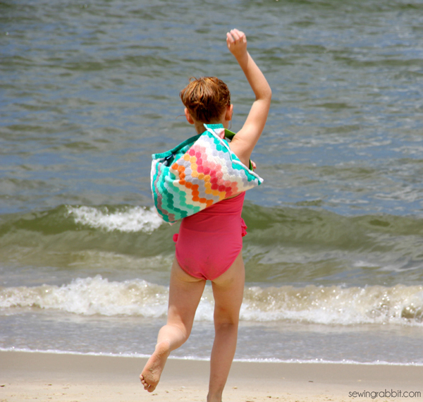 How-To: Beach Towel Backpack