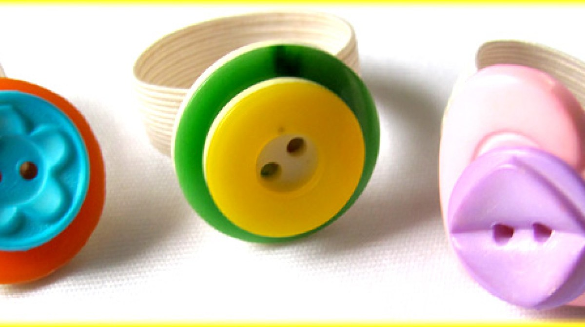 How-To: DIY Button Rings With Kids