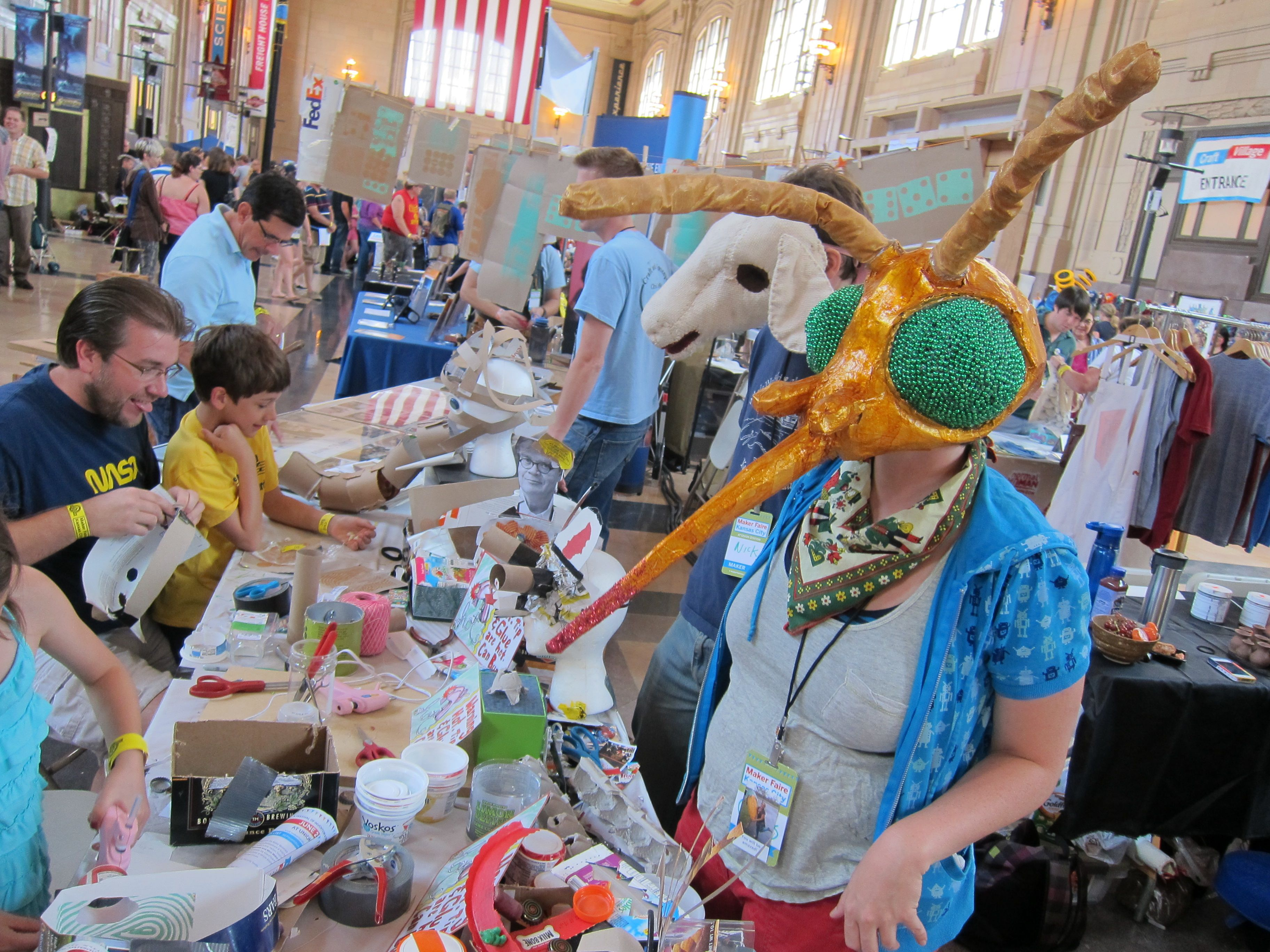 Maker Faire Kansas City: Day Two