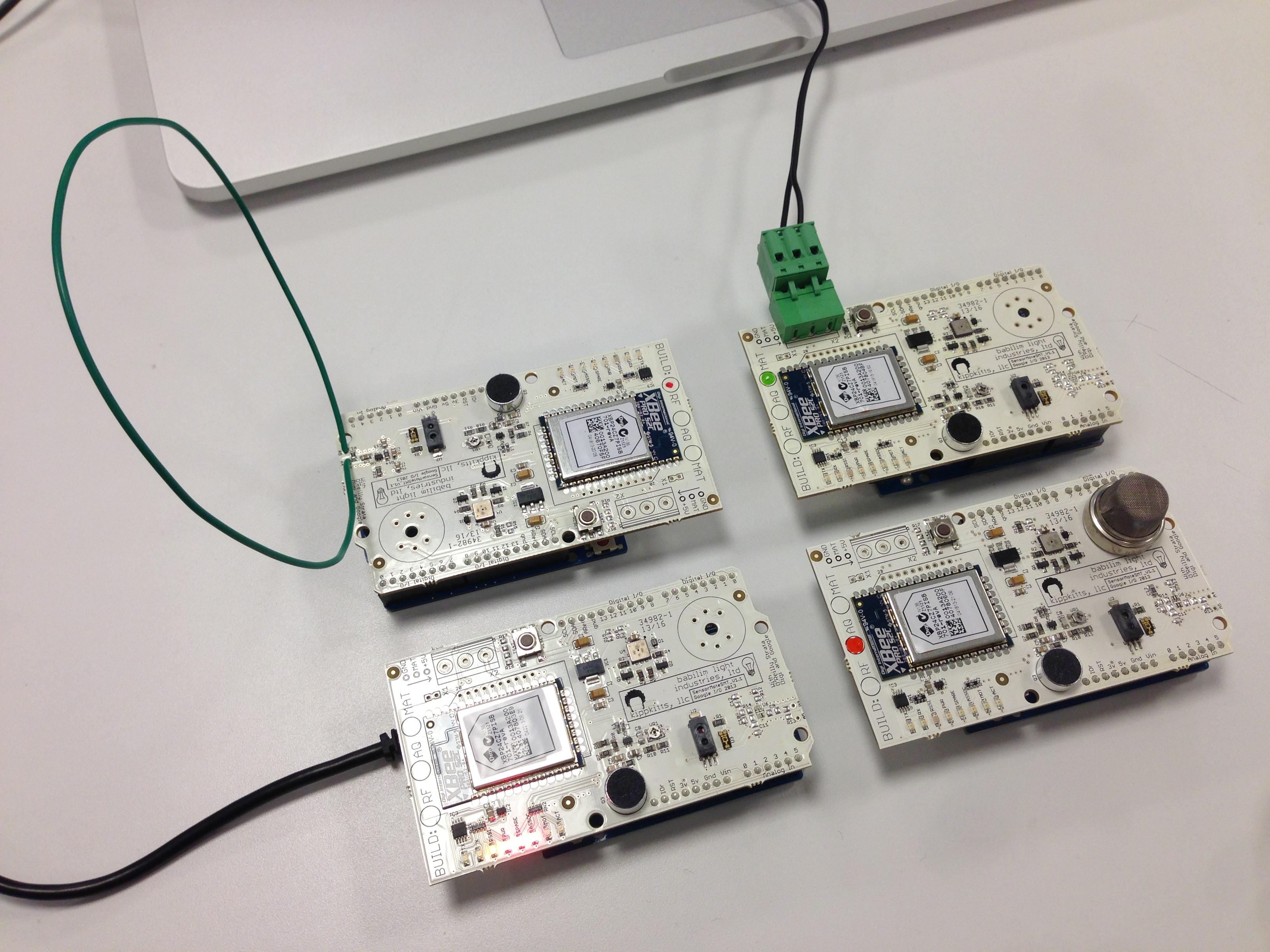Urban Sensor Hacks Hangout TODAY at 3:30pm PT