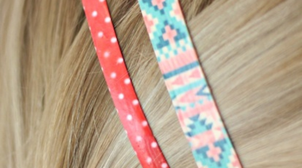 How-To: Pretty Patterned Hair Clips