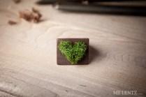 Heart of grass ring.