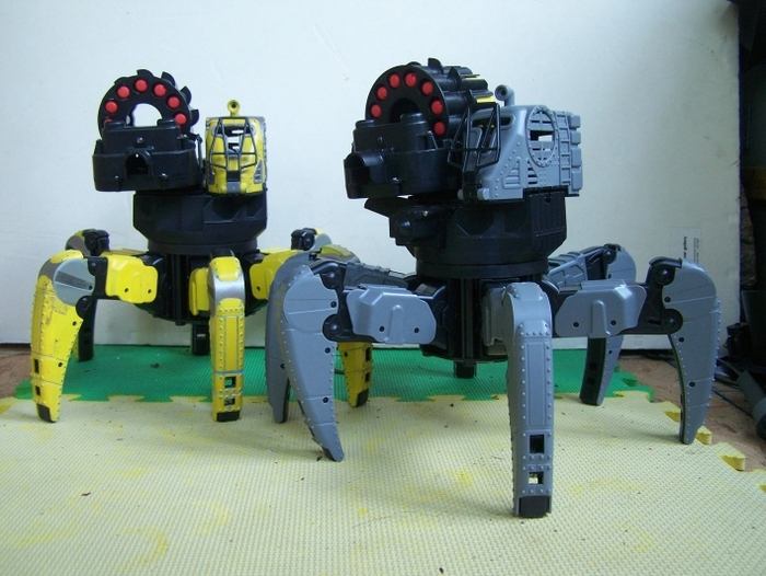 I Need a Spider Tank Robot Kit