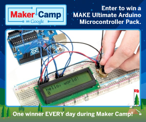 Maker Camp Daily Giveaway: We Have a Winner