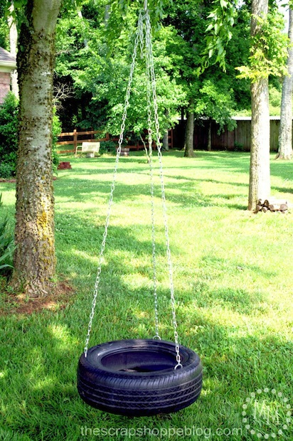 How-To: Make a Tire Swing