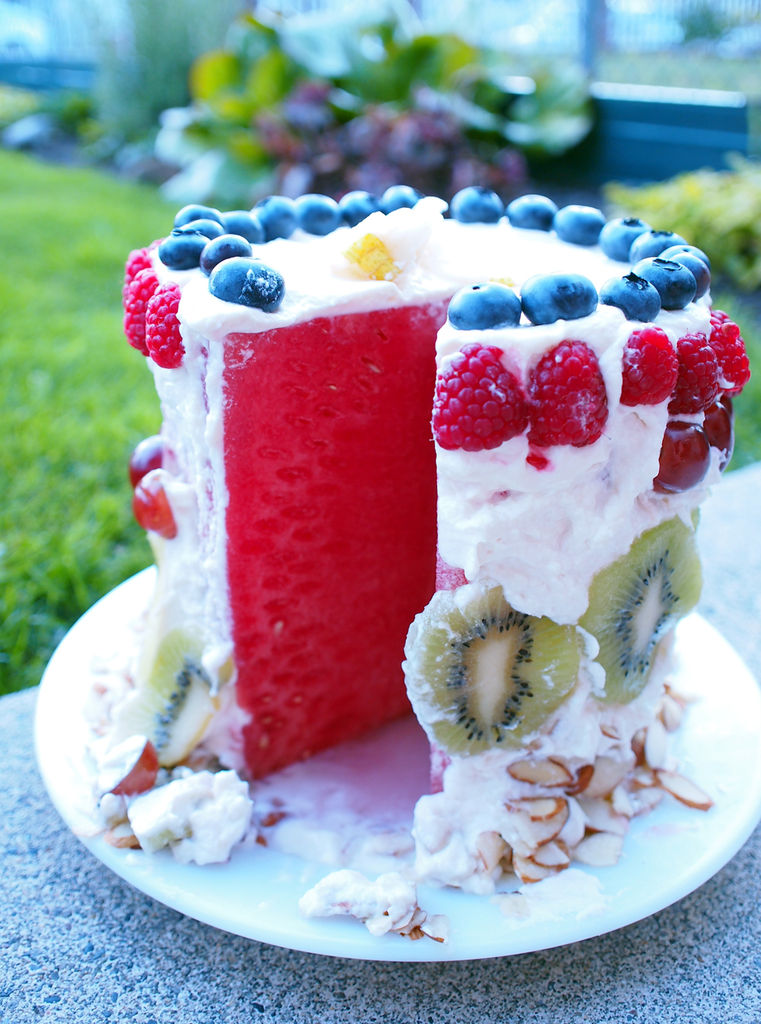 How-To: Watermelon Cake