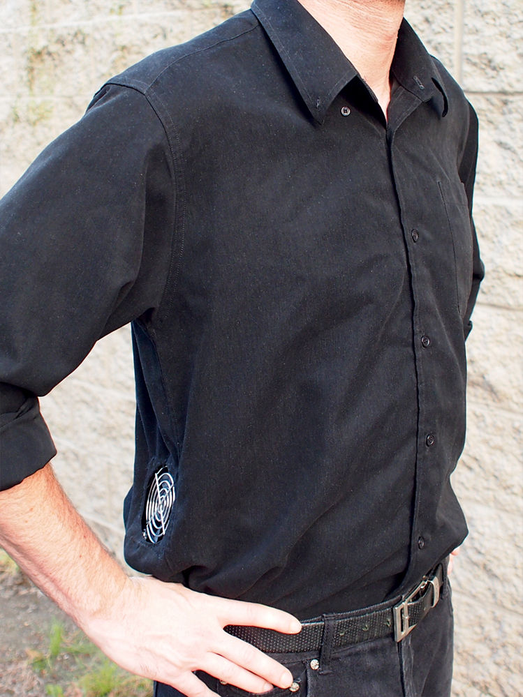 How-To: Air Conditioned Shirt