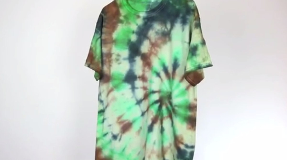 Camouflage Tie Dye