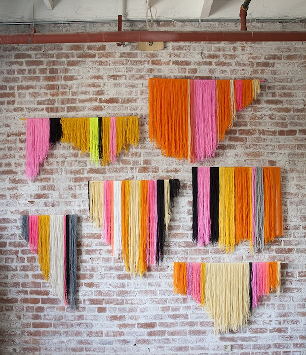 How-To: DIY Hanging Yarn Banner