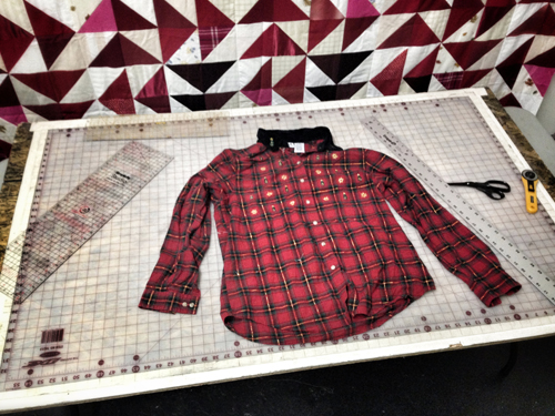 How-To: Deconstruct a Shirt Into Working Yardage