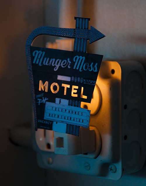 DIY Motel Night Light