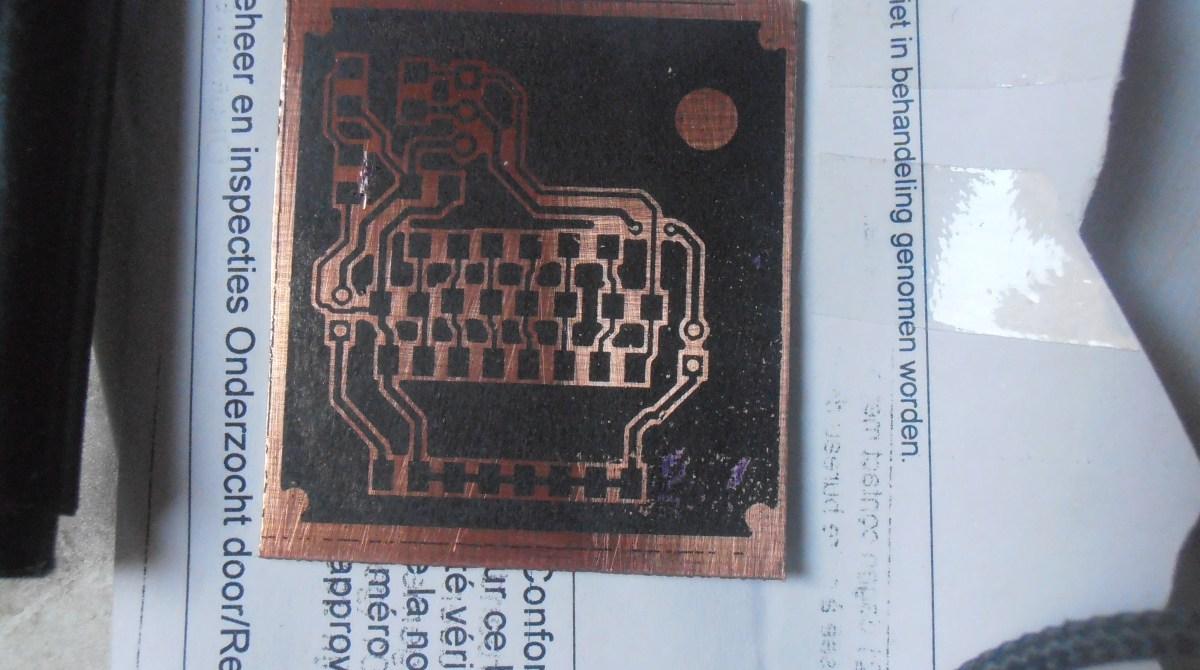 DIY PCB Using Parchment Paper