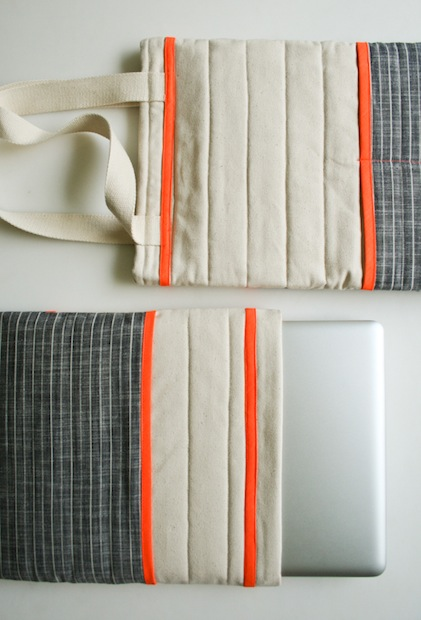 How-To: Quilted Laptop Sleeve