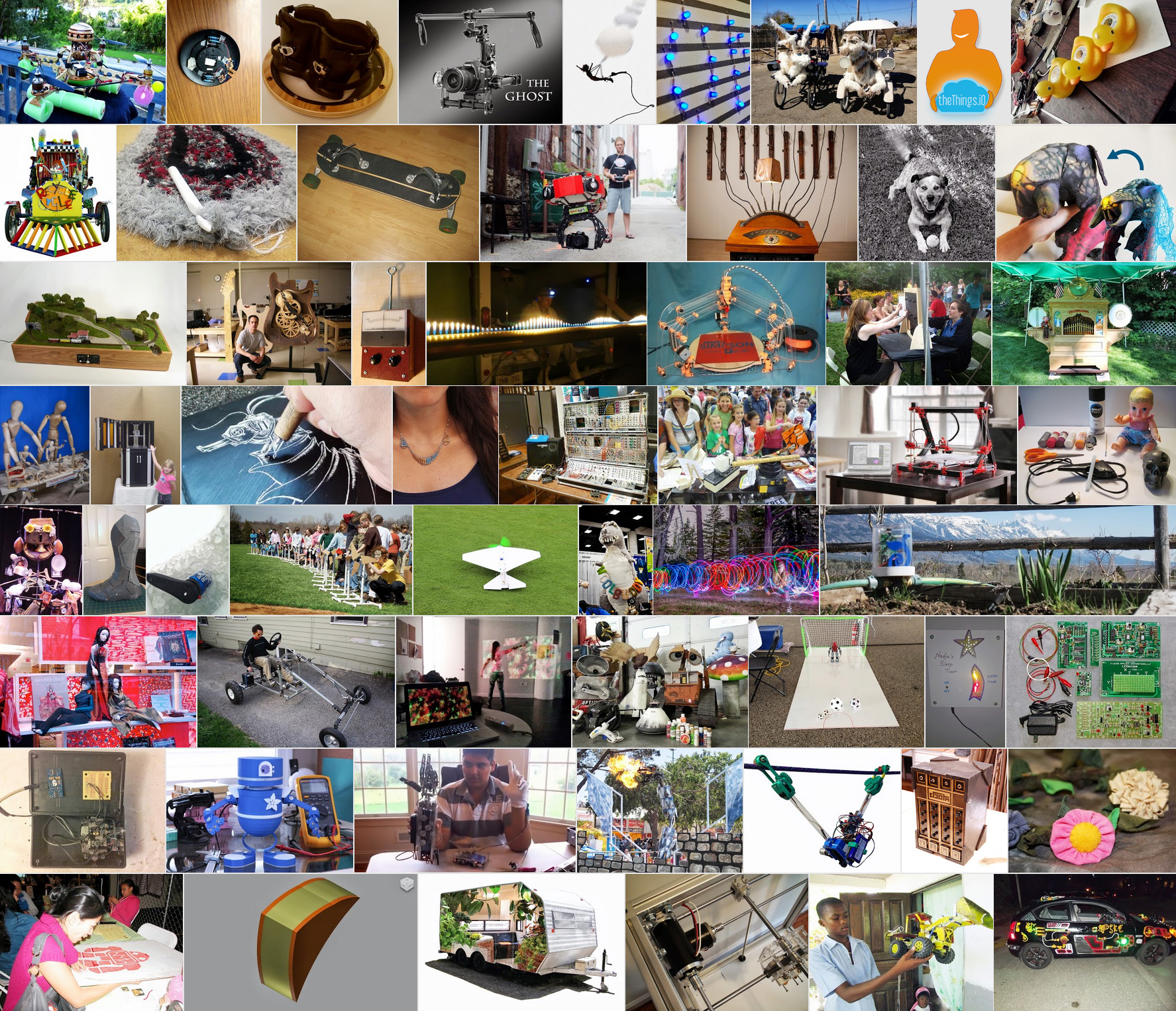Cast Your Votes on the Road to Maker Faire Challenge & Help Send One Maker to NYC!