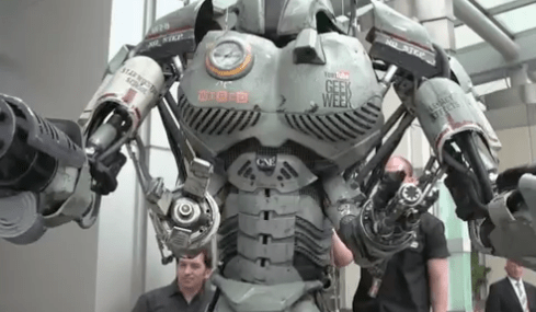 How did They Make That Huge Comic-Con Robot?
