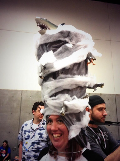 Sharknado Headpiece