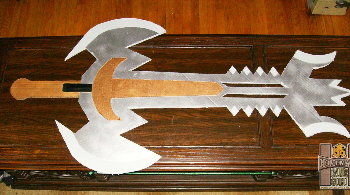 The Art Of The Halloween Costume Cardboard Sword Make