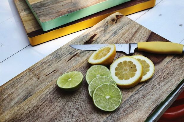 Kitchen Inspiration: Color-Edged Cutting Boards
