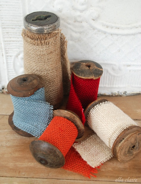 How-To: DIY Burlap Ribbon