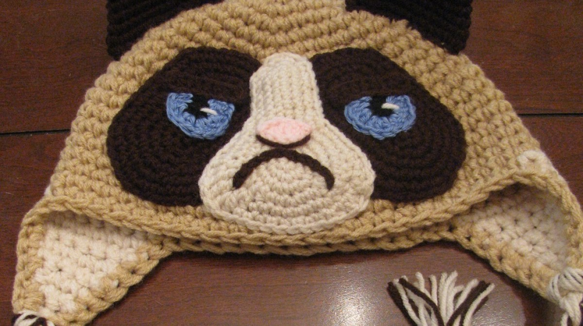 Grumpy Cat Hat for Ed Sheeran