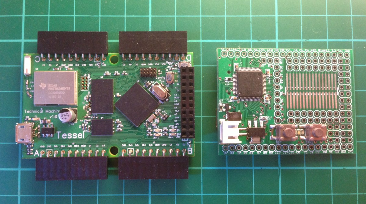 First Look: Javascript Microcontrollers for Web Developers | Make: