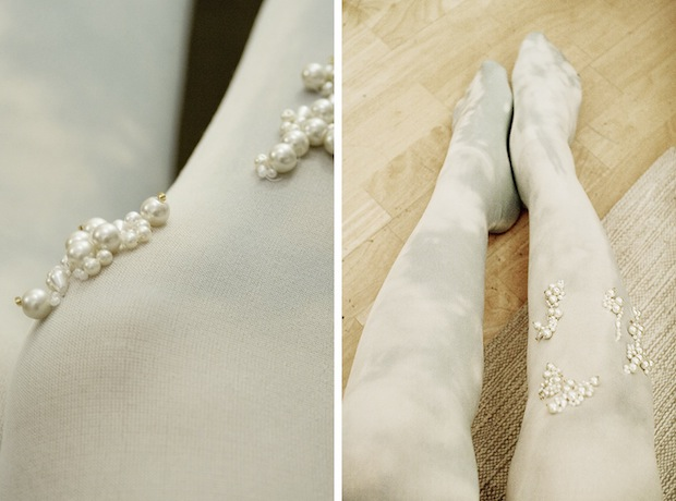 How-To: Embellished Bubble Tights