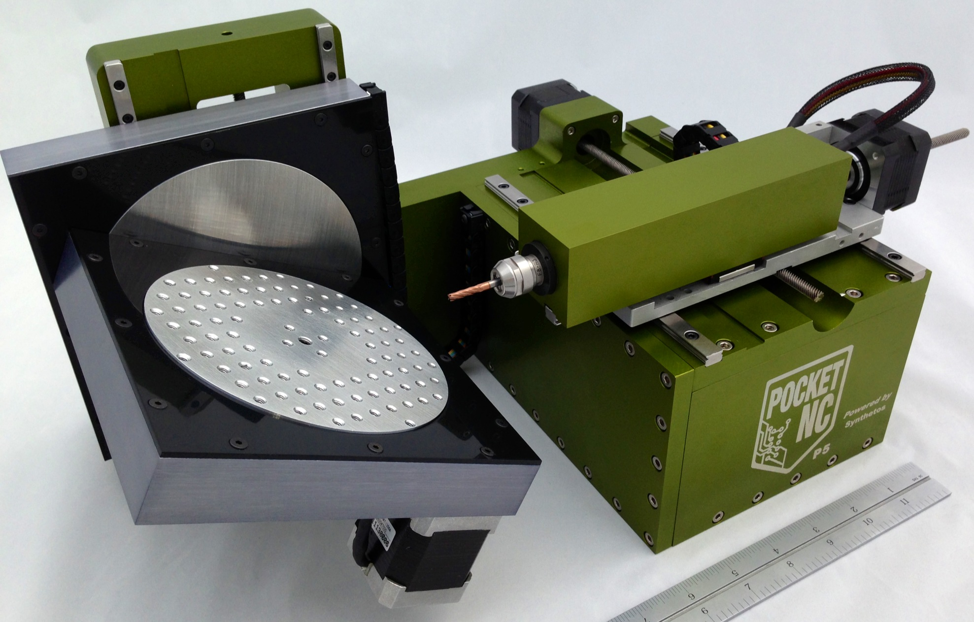 PocketNC, an Affordable Five-Axis CNC
