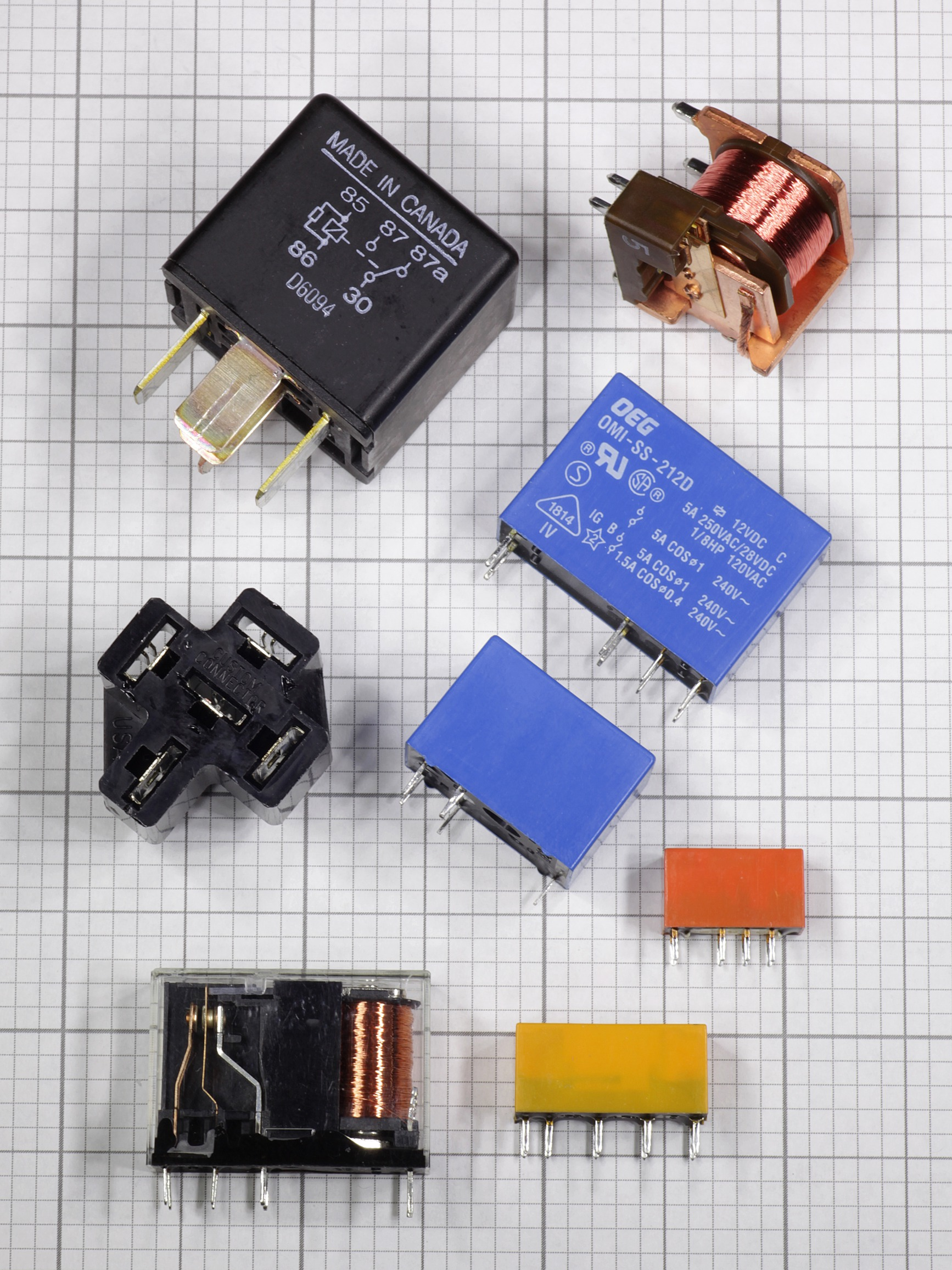 Component Of The Month Relays Make Basic Functions A Relay