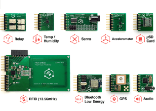 Class A modules (top) and the more expensive Class B modules (bottom).