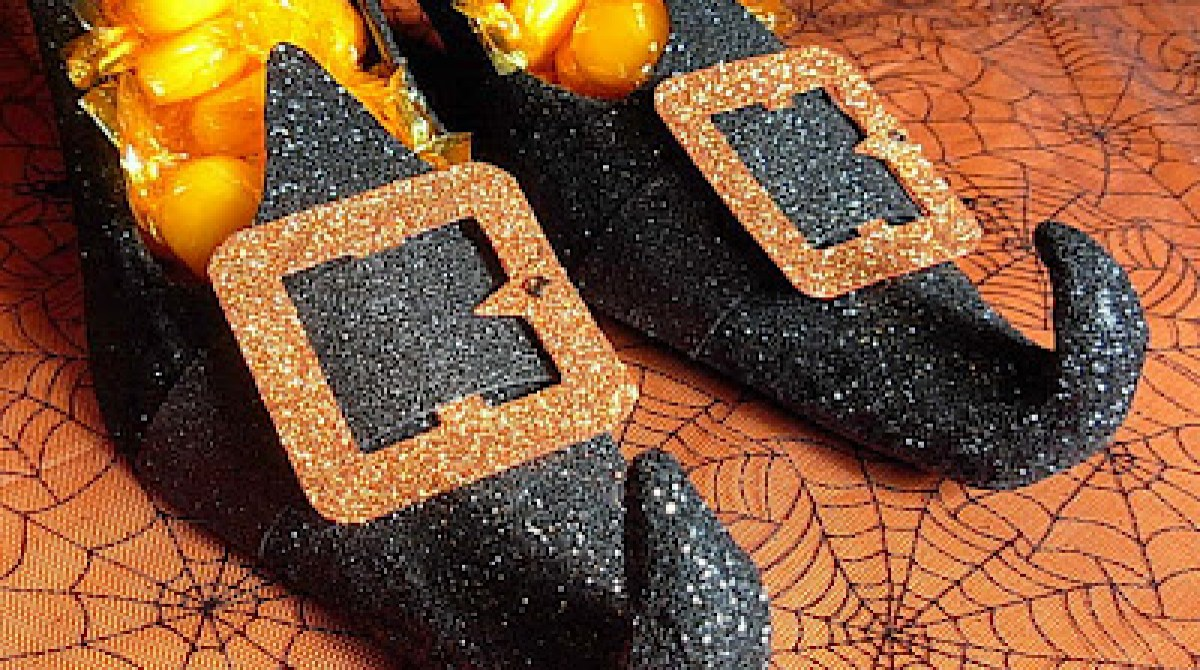 DIY Witch Shoes