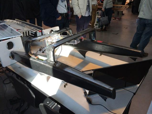 Solar powered boats.