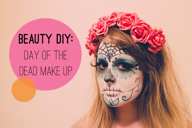 How-To: Day of the Dead Sugar Skull Bride Makeup