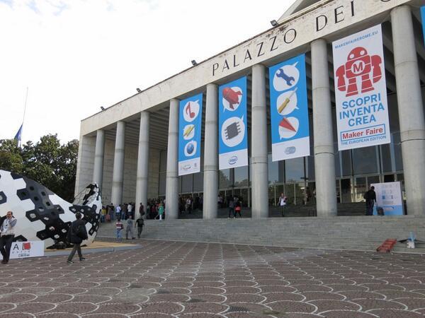 Maker Faire Rome: That's Italian