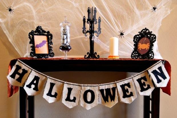 Flashback: Halloween Burlap Bunting