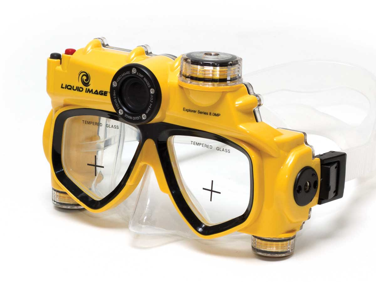 Liquid Image Explorer 304 Videocam Dive Mask