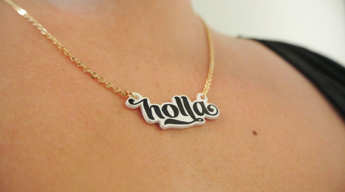 How-To: DIY Typography Pendants
