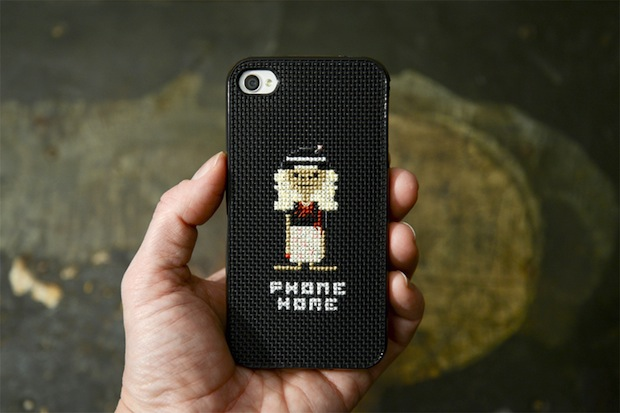 How-To: Cross-Stitch E.T. iPhone Case
