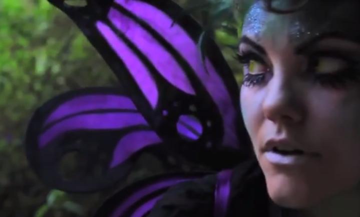 DIY El Wire Fairy Wings