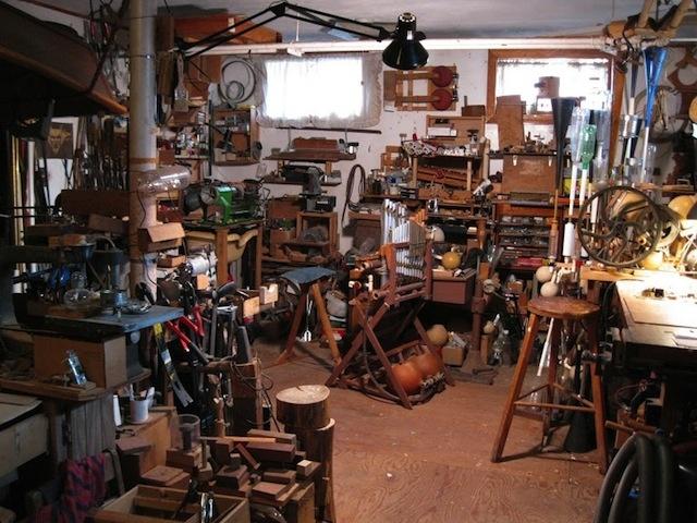 Inside the Workshop – and Mind – of Len Solomon