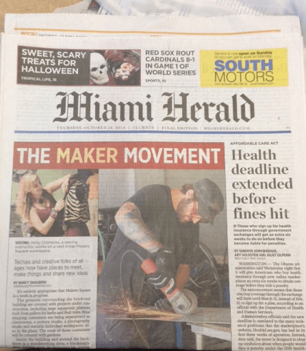 Feel the Heat: Maker Faire Coming to Miami