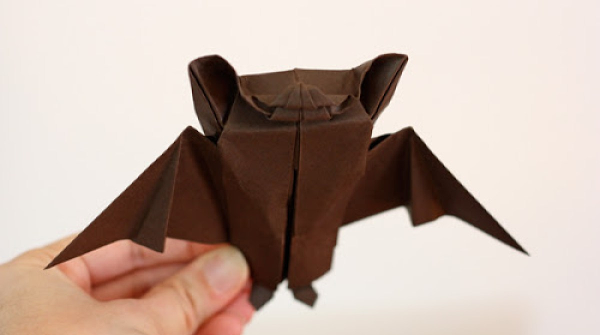 How-To: Origami Bat Decoration