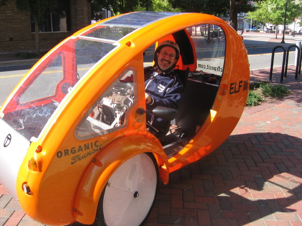Elf Solar-Powered Bicycle Vehicle Rolls Forward