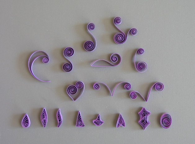 Calendar Wallpaper Quilling : Quilling learn the basics of paper make