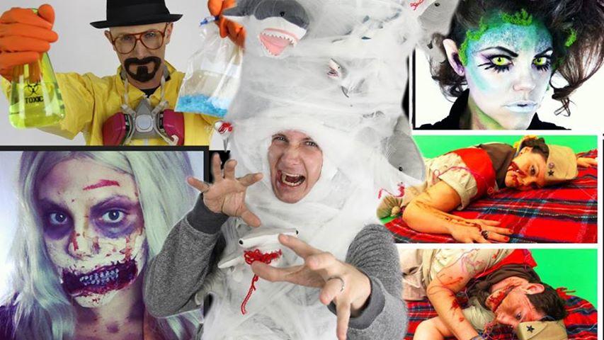 DIY Sharknado Costume