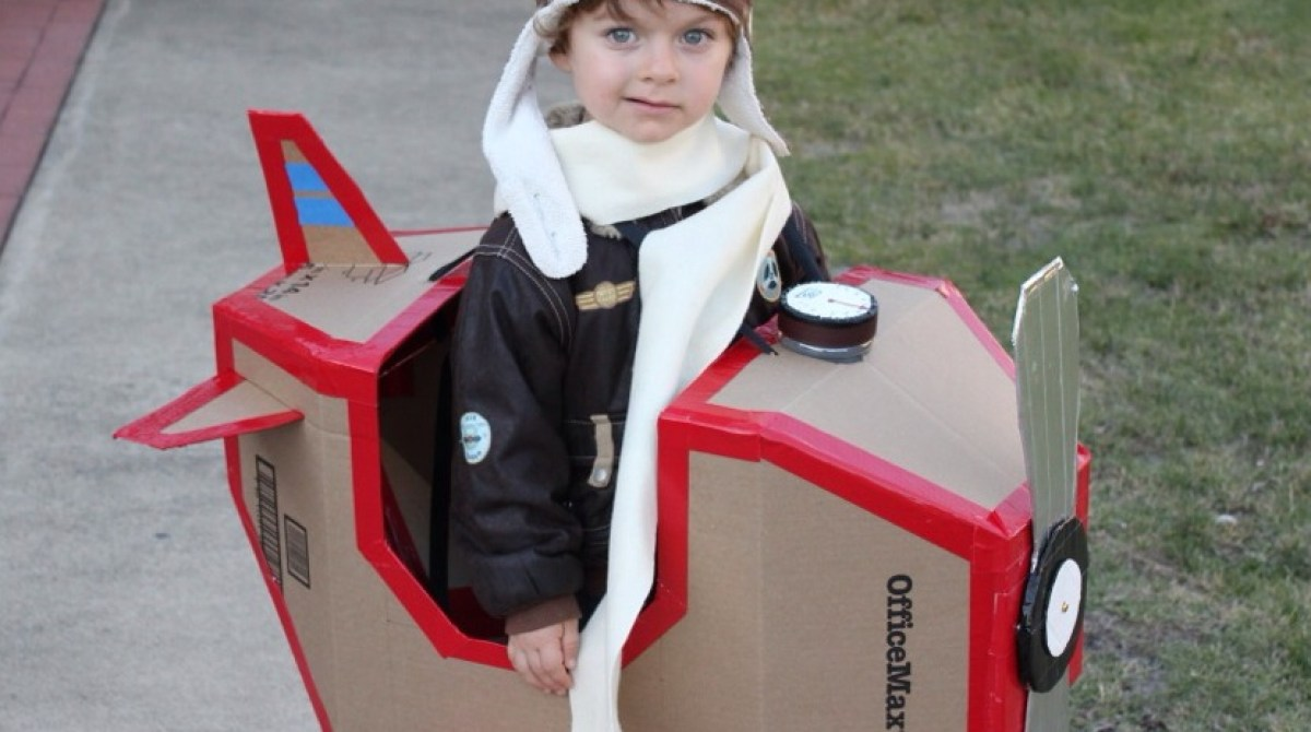 Super Sweet Airplane Costume