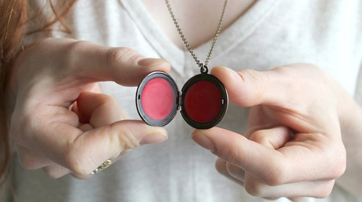 How-To: Tinted Lip Balm Locket