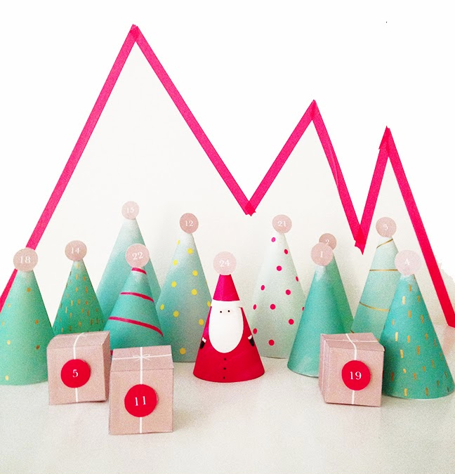 Mountain + Forest Advent Calendar