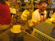 Illustrator/designer/artist Alfonso Diaz' tiny robot sculptures
