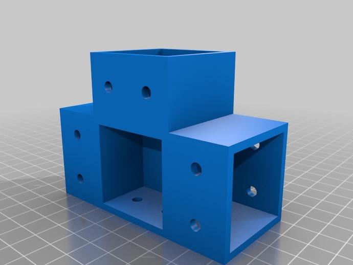 Downloadable 3D-Printed Connectors for DIY Furniture