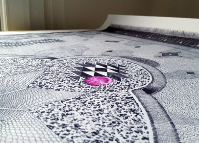 Carpet no°2 detail